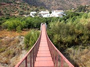Bridge to Huerta de Ranea Comares: Holiday activities, accommodation in Spain