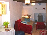 Andalucian style living room Booking info for rural accommodation Comares
