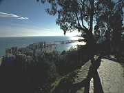 View from Alcazaba over Málaga Malaga city, Picasso museum, Alcazaba: English tour guide