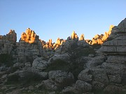 Evening at El Torcal Torcal, Antequera, el Chorro: excursions from Comares